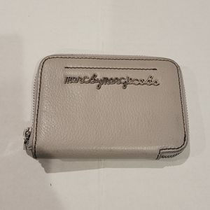 Marc By Marc Jacobs Taupe Zip Around Wallet